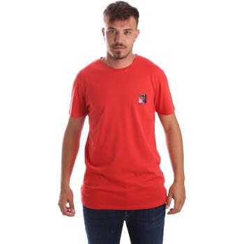 Textil Muži Trička s krátkým rukávem Byblos Blu 2MT0010 TE0045 Červené