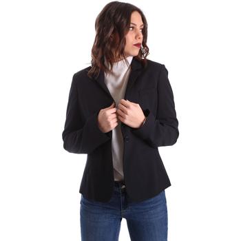 Textil Ženy Saka / Blejzry Liu Jo WXX047T7896 Modrý