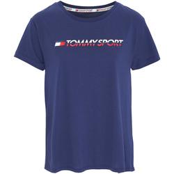 Textil Ženy Trička s krátkým rukávem Tommy Hilfiger S10S100061 Modrý