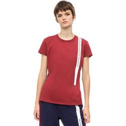 Textil Ženy Trička s krátkým rukávem Calvin Klein Jeans 00GWH8K169 Červené