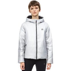 Textil Ženy Bundy Calvin Klein Jeans 00GWH8O598 Šedá