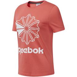 Textil Ženy Trička s krátkým rukávem Reebok Sport DT7223 Růžový