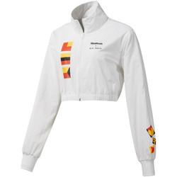 Textil Ženy Bundy Reebok Sport DY9376 Bílý