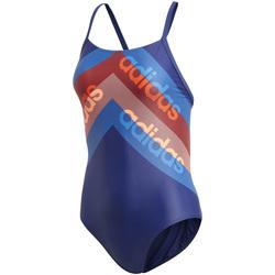 Textil Ženy jednodílné plavky adidas Originals DH2403 Modrý