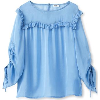 Textil Ženy Halenky / Blůzy Liu Jo W19292T5339 Modrý