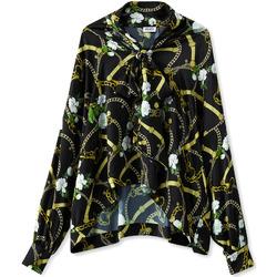 Textil Ženy Košile / Halenky Liu Jo W19499T5335 Černá