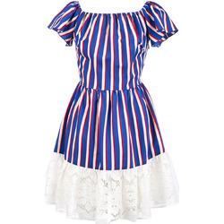 Textil Ženy Krátké šaty Liu Jo F19384T2311 Modrý