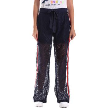 Textil Ženy Teplákové kalhoty Fracomina FR19SP905 Modrý