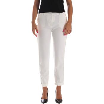 Textil Ženy Mrkváče Fracomina FR19SP684 Bílý