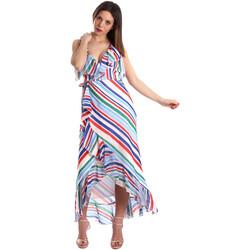 Textil Ženy Společenské šaty Fracomina FR19SP594 Bílý