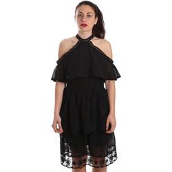 Textil Ženy Krátké šaty Fracomina FR19SP539 Černá