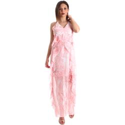 Textil Ženy Společenské šaty Fracomina FR19SP429 Růžový