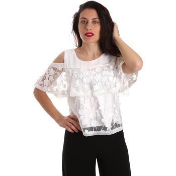 Textil Ženy Halenky / Blůzy Fracomina FR19SP605 Bílý