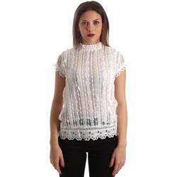 Textil Ženy Halenky / Blůzy Fracomina FR19SP521 Bílý