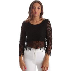Textil Ženy Halenky / Blůzy Fracomina FR19SP099 Černá