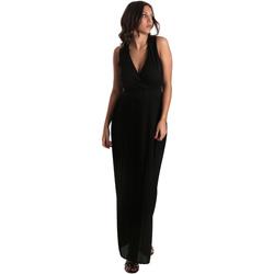 Textil Ženy Společenské šaty Fracomina FR19SM673 Černá