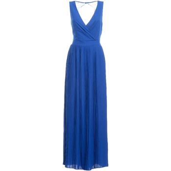 Textil Ženy Společenské šaty Fracomina FR19SM673 Modrý