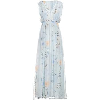 Textil Ženy Společenské šaty Fracomina FR19SMCARLINDA Modrý