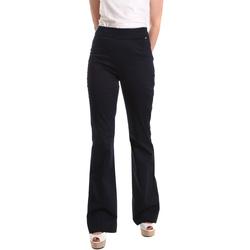 Textil Ženy Turecké kalhoty / Harémky Fracomina FR19SM617 Modrý