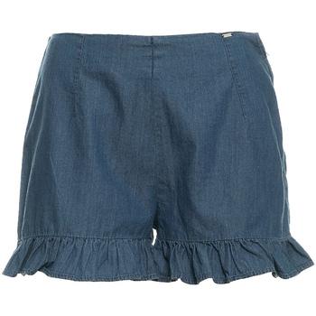 Textil Ženy Kraťasy / Bermudy Fracomina FR19SM503 Modrý