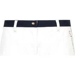 Textil Ženy Kraťasy / Bermudy Ea7 Emporio Armani 3GTS02 TN29Z Bílý
