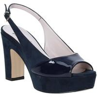 Boty Ženy Sandály Grace Shoes 679004 Modrý