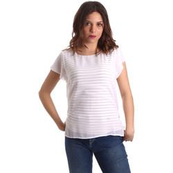 Textil Ženy Halenky / Blůzy NeroGiardini P962470D Bílý