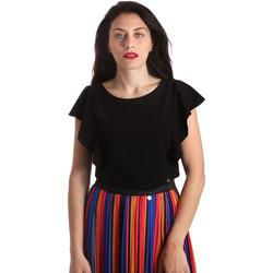 Textil Ženy Halenky / Blůzy NeroGiardini P962510D Černá