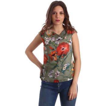 Textil Ženy Halenky / Blůzy NeroGiardini P962570D Zelený