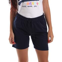 Textil Ženy Kraťasy / Bermudy Key Up 5F59G 0001 Modrý