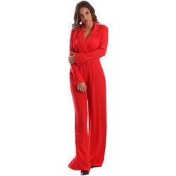 Textil Ženy Overaly / Kalhoty s laclem Byblos Blu 2WD0010 TE0012 Červené