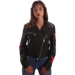 Textil Ženy Kožené bundy / imitace kůže Byblos Blu 2WS0002 LE0007 Černá