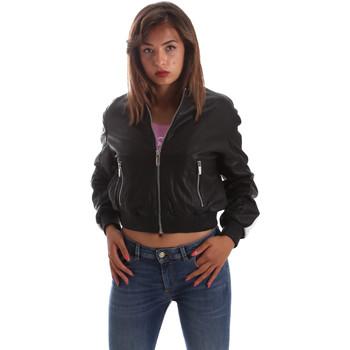 Textil Ženy Kožené bundy / imitace kůže Byblos Blu 2WS0004 LE0009 Černá