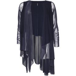 Textil Ženy Svetry / Svetry se zapínáním Smash S1953411 Modrý