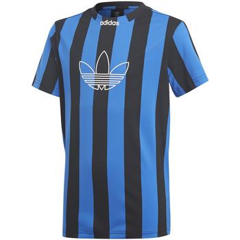 Textil Chlapecké Trička s krátkým rukávem adidas Originals DV2910 Modrý