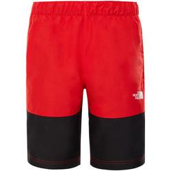 Textil Děti Plavky / Kraťasy The North Face T93NNH Červené