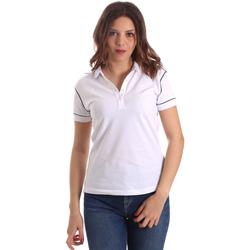 Textil Ženy Polo s krátkými rukávy La Martina NWP002 PK001 Bílý
