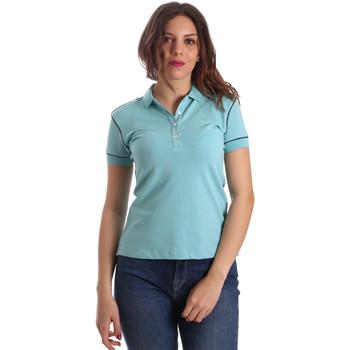 Textil Ženy Polo s krátkými rukávy La Martina NWP002 PK001 Modrý