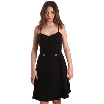 Textil Ženy Krátké šaty Gaudi 911FD15005 Černá