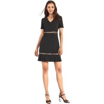 Textil Ženy Krátké šaty Gaudi 911FD15006 Černá