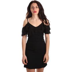 Textil Ženy Krátké šaty Gaudi 911FD15049 Černá