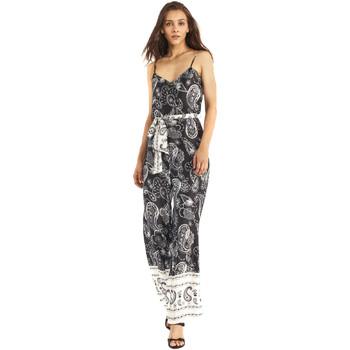 Textil Ženy Overaly / Kalhoty s laclem Gaudi 911FD25027 Černá