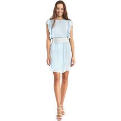 Textil Ženy Krátké šaty Gaudi 911BD15004 Modrý