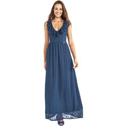 Textil Ženy Společenské šaty Gaudi 911BD15007 Modrý