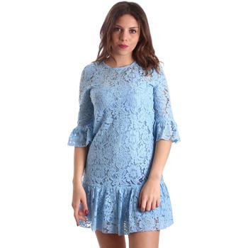 Textil Ženy Krátké šaty Gaudi 911BD15009 Modrý
