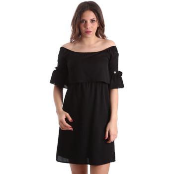 Textil Ženy Krátké šaty Gaudi 911BD15015 Černá