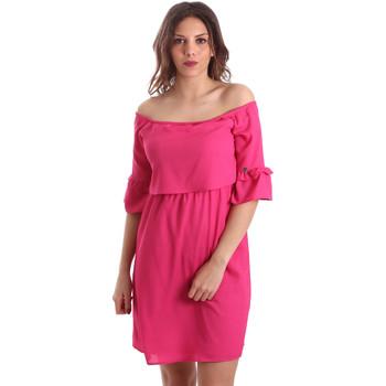 Textil Ženy Krátké šaty Gaudi 911BD15015 Růžový