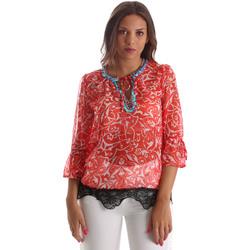 Textil Ženy Halenky / Blůzy Gaudi 911BD45013 Červené