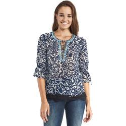 Textil Ženy Halenky / Blůzy Gaudi 911BD45013 Modrý