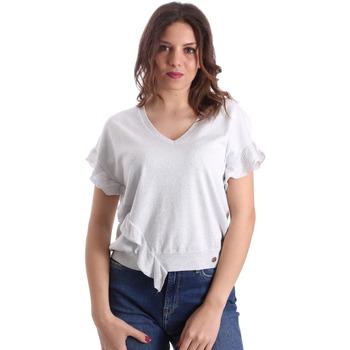 Textil Ženy Halenky / Blůzy Gaudi 911BD53010 Šedá